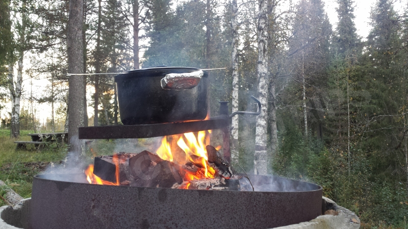 Barbecue finlandais.